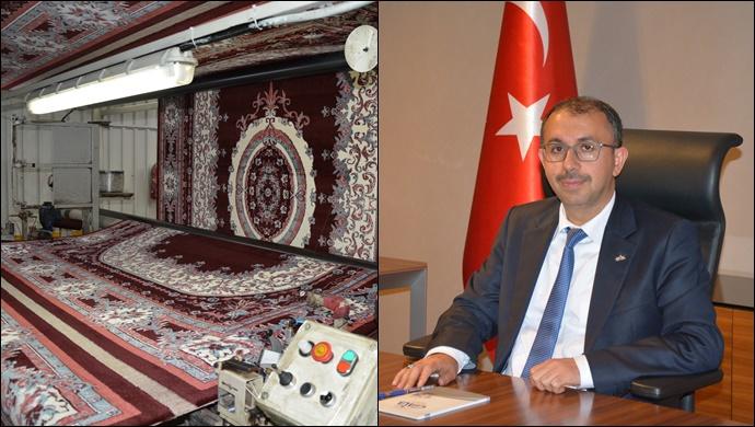 144 ülkeye Gaziantep'ten makine halısı serdik