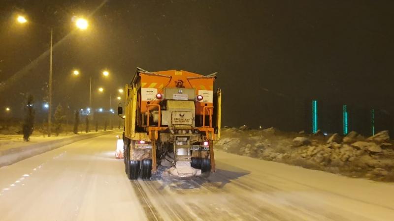 2020 Yılının İlk Kar Yağışında Büyükşehir Yine Sahada