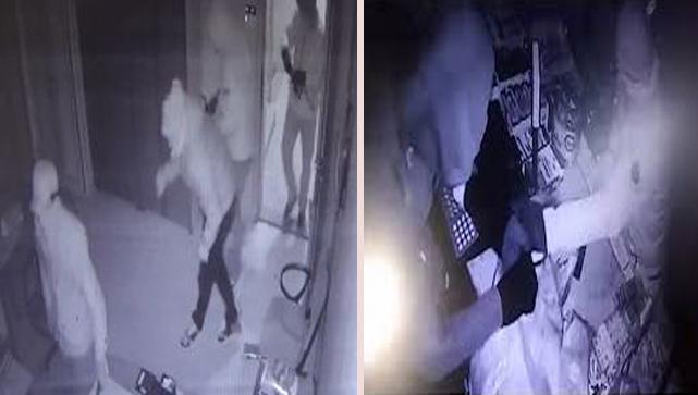 300 bin liralık soygun güvenlik kamerasına yansıdı