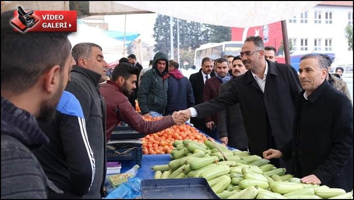 Ak Aday Kuş: Eyyübiye'ye Modern Semt Pazarları Kazandıracağız