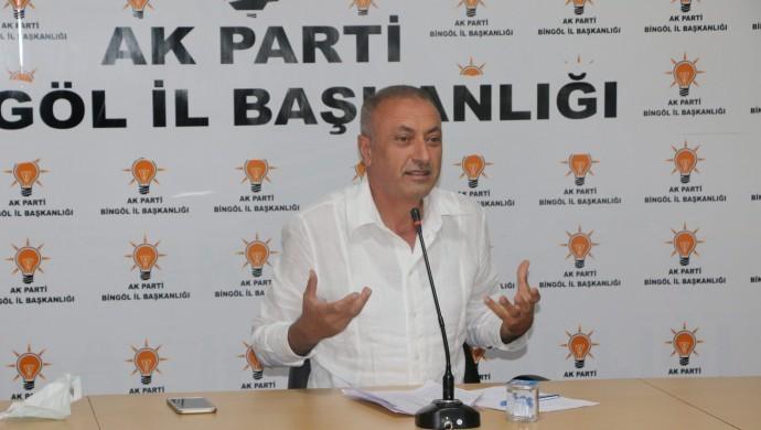 AK Parti Bingöl İl Başkanı görevden alındı