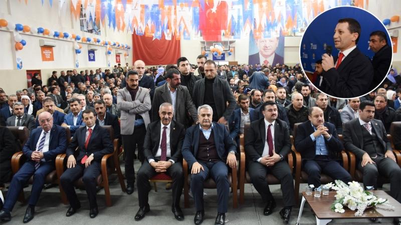 Ak Parti Hilvan 7. Olağan İlçe Kongresi yoğun bir katılımla gerçekleşti