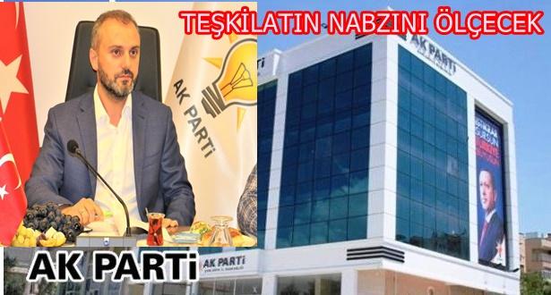 AK Parti Teşkilat Başkanı Erkan Kandemir Şanlıurfa'ya geliyor