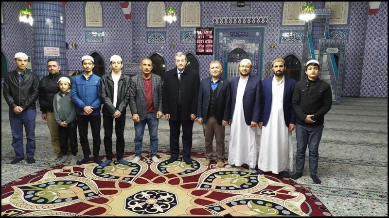 AK Partilı Recep Yıldırım MTDF' yi Ziyaret Etti