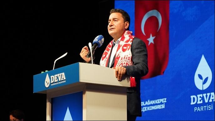 Ali Babacan'dan Erdoğan'a:'Kendisine tasarruftan muafiyet, vatandaşa yük'-(VİDEO)