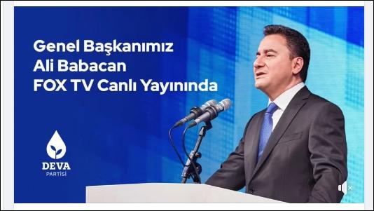 Ali Babacan:'Seçimi açık farkla kazanmak gerekiyor'