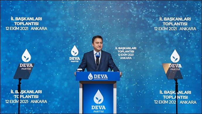 Ali Babacan:''Yeni Türkiye'nin düzenini ilke ve kurallar üzerine inşa edeceğiz'