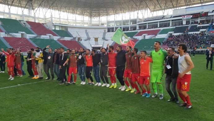 Amedspor Afyonspor'u 1-0 mağlup etti