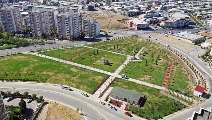 Ankara Büyükşehir Belediyesi Başkent'e Yeni Bir Yeşil Alan Daha Kazandırdı