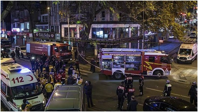 Ankara'da doğalgaz patlaması: 7 kişi yaralandı
