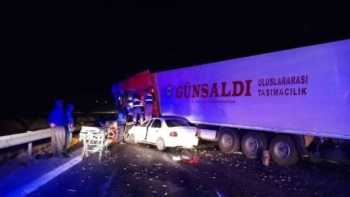 Antep'te kaza: 1 ölü, 3 yaralı