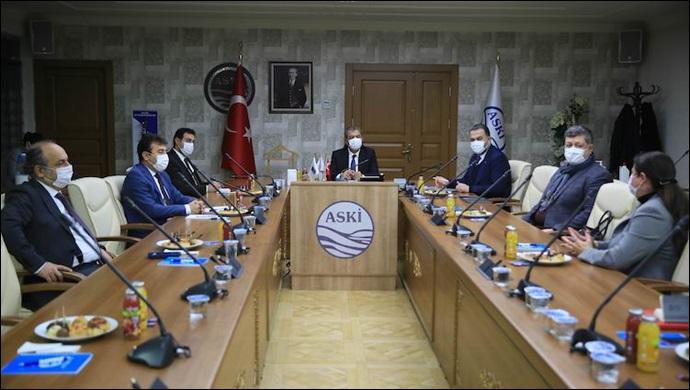 ASKİ ve Ankara Kent Konseyi Su Tasarrufu İçin İş Birliği Yapacak