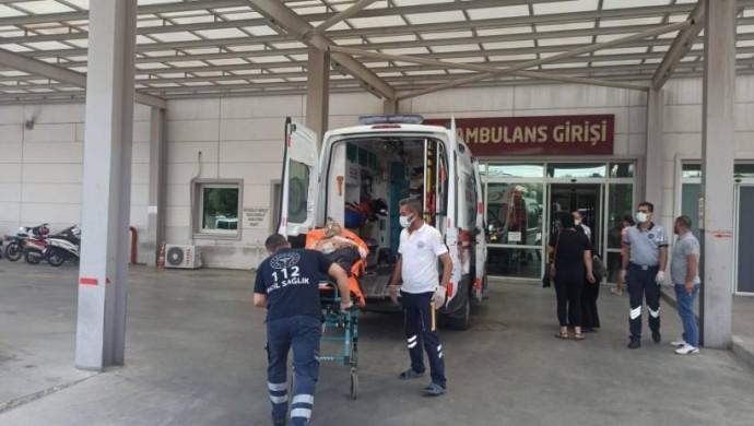 Aydın'da erkek şiddeti: 2'si çocuk 6 yaralı
