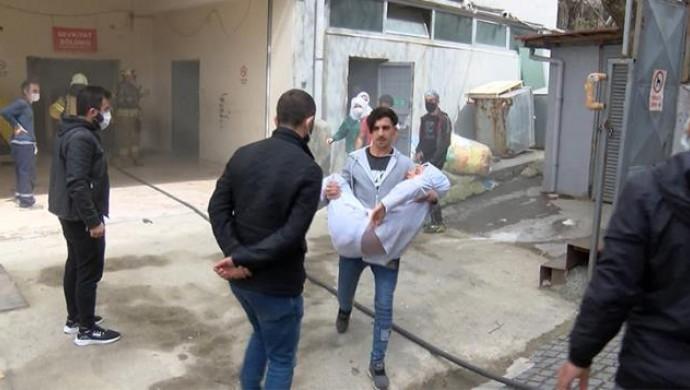 Bağcılar'da patlama: 1 işçi yaralandı