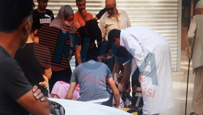 Bahçelievler'de bir kadın kendisini 4'üncü kattan aşağı attı