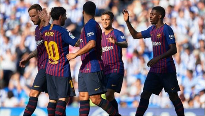 Barça'ya 3 dakika yetti