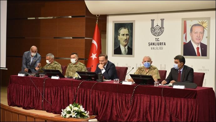 Barış Pınarı Bölgesi Koordinasyon Toplantısı Yapıldı