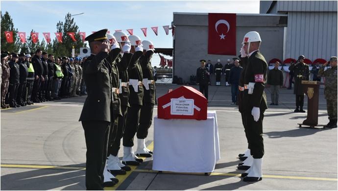 Barış Pınarı Şehidi Harun Çınar Hatay'a Uğurlandı -(GÖRÜNTÜLÜ)