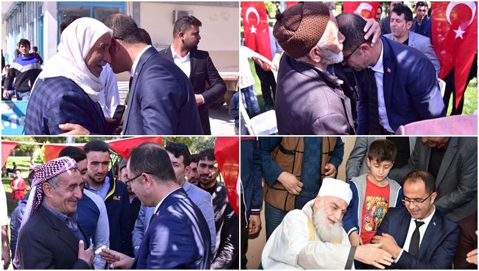 Başkan Abdullah Aksak, Seçim Zaferinin Ardından Mevlid Okuttu