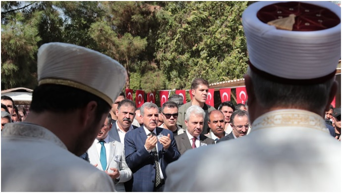 Başkan Beyazgül, Şehitlerimizi Ebediyete Uğurladı