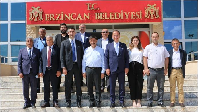 Başkan Çalık'tan Erzincan'a Ziyaret