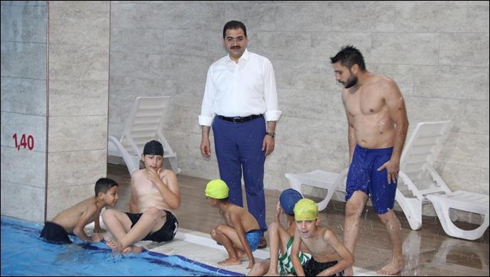Başkan Canpolat Havuzları İnceledi