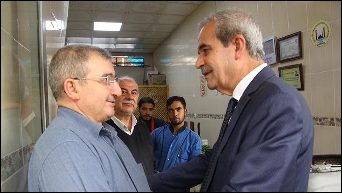 Başkan Demirkol, Çarşılar Bölgesinde Halkla Bir Araya Geldi