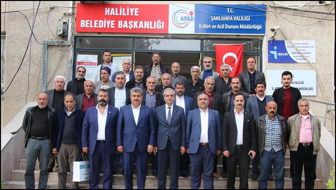 Başkan Demirkol'a İnşaatçılar Derneğinden Teşekkür Ziyareti