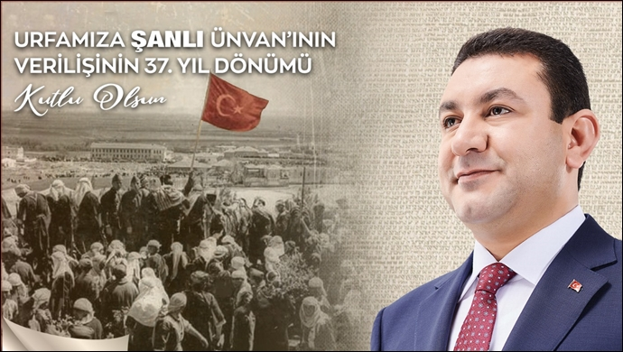 """Başkan Özyavuz'dan """"Şanlı Unvanı"""" Mesajı"""