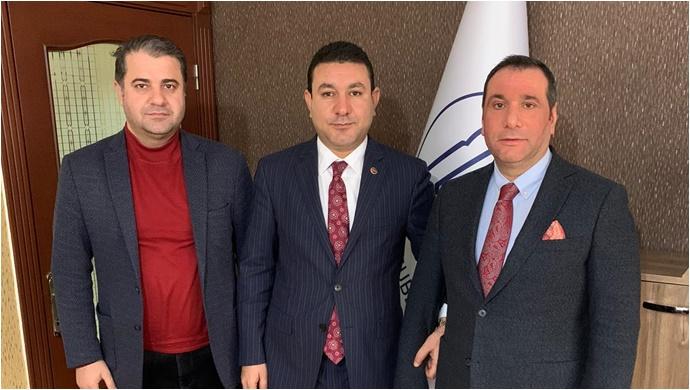 Başkan Özyavuz'dan Şurkav'a Ziyaret