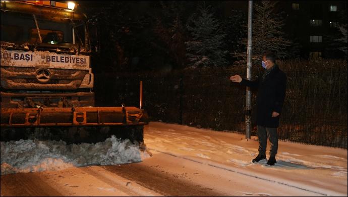 Başkan Ramazan Şimşek'in Yoğun Kar Mesaisi…