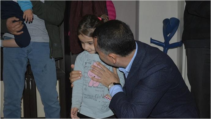 Başkan Resul Yılmaz, Ağrı gazisini ziyaret etti
