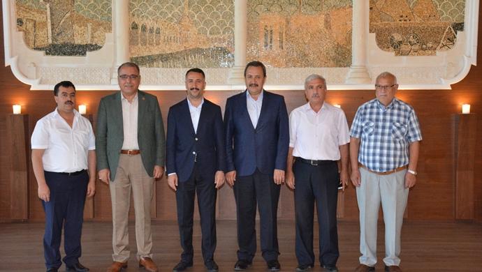 Başkan Resul Yılmaz Şanlıurfa'da bir dizi ziyaretlerde bulundu.
