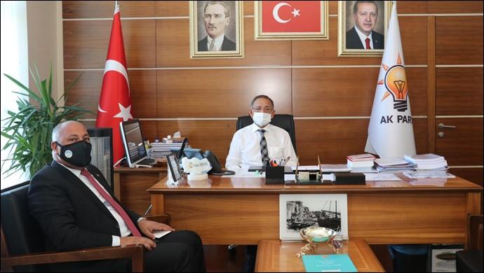 Başkan Soylu, Öz haseki ile görüştü