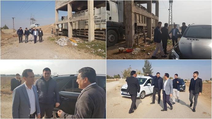 Başkan Vekili Aktaş, Çöp Atık Toplama Merkezinde İncelemelerde Bulundu