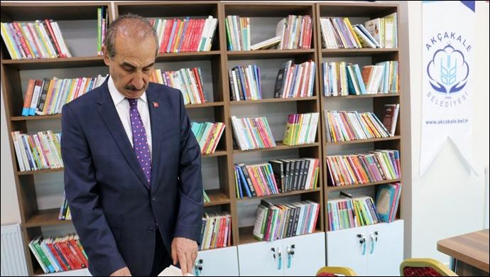 Başkan yalçınkaya sözünü tuttu! Kütüphane kafe açıldı