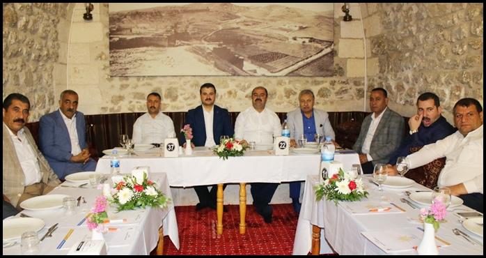 Başkan Yıldız Belediye Başkanlarıyla Görüştü
