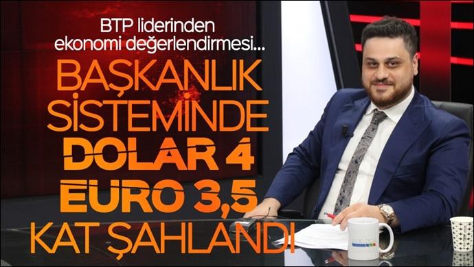 Başkanlık sisteminde Dolar 4 kat, Euro 3,5 kat şahlandı-(VİDEO)