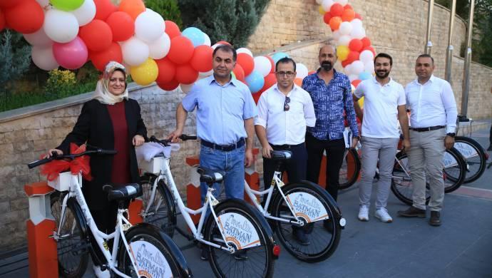 Batman Belediyesi 'akıllı bisikleti' tanıttı