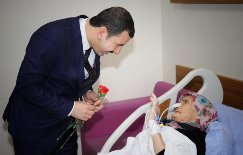 Baydilli'den Hastalara Geçmiş Olsun Ziyareti