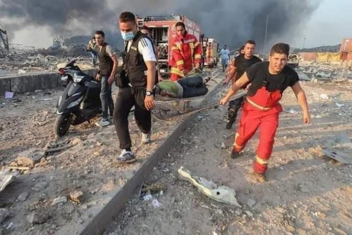 Beyrut'ta OHAL: En az 100 ölü, 4 bin yaralı
