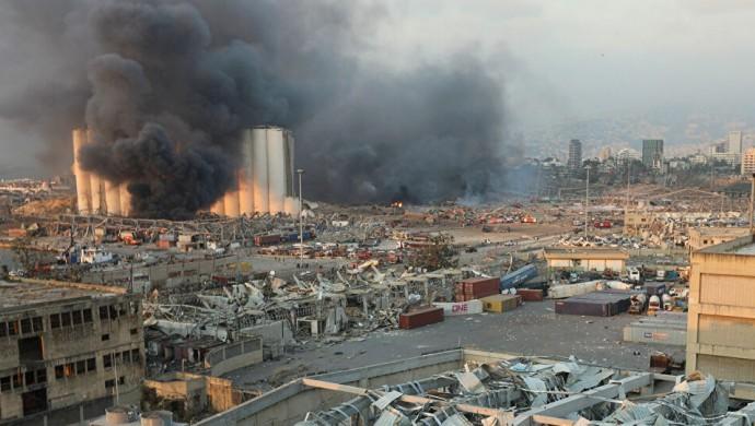 Beyrut'taki patlamada yaşamını yitirenlerin sayısı 171' e yükseldi