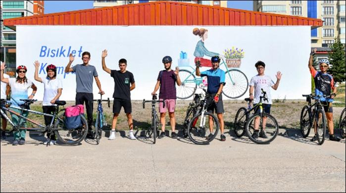 Bisiklet ulaşımının tüm operasyonları Bisiklet Kampüsü'nde yürütülecek