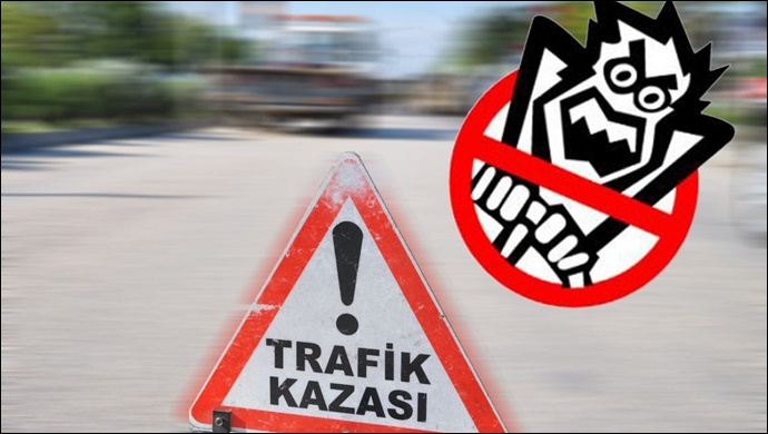 Bozova'da otomobil refüje çarptı: 2 kişi yaralandı