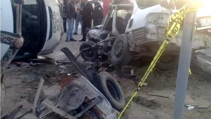 Bulanık'ta kaza:1 ölü, 1 yaralı