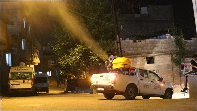 Büyükşehir, Bin 500 Kişilik Ekiple Şehri Tepeden Tırnağa İlaçlıyor