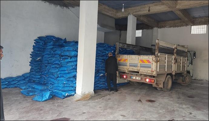 Büyükşehir Zabıta 70 Ton Kaçak Kömür Ele Geçirdi