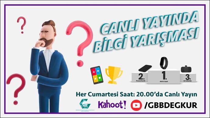 Büyükşehir'den Genel Kültür Temalı Ödüllü Online Bilgi Yarışması