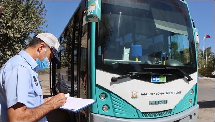 Büyükşehirden Toplu Taşıma Araçlarına Denetim-(VİDEO)
