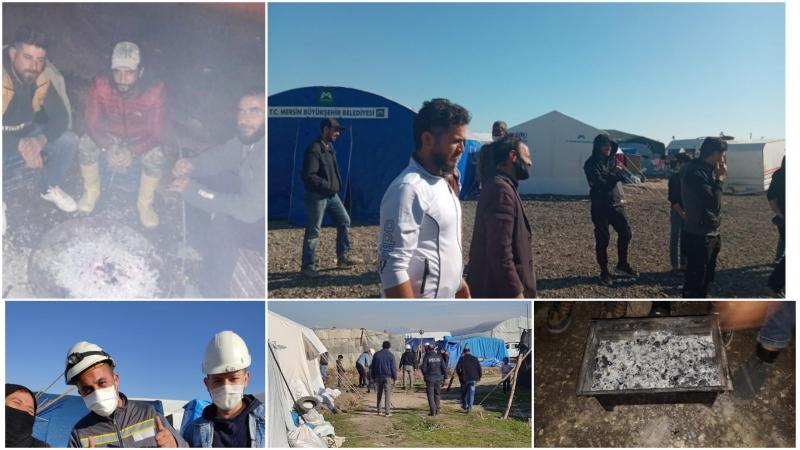 Çadırda yaşayan Suriyeli mülteciler karanlıkta bırakıldı